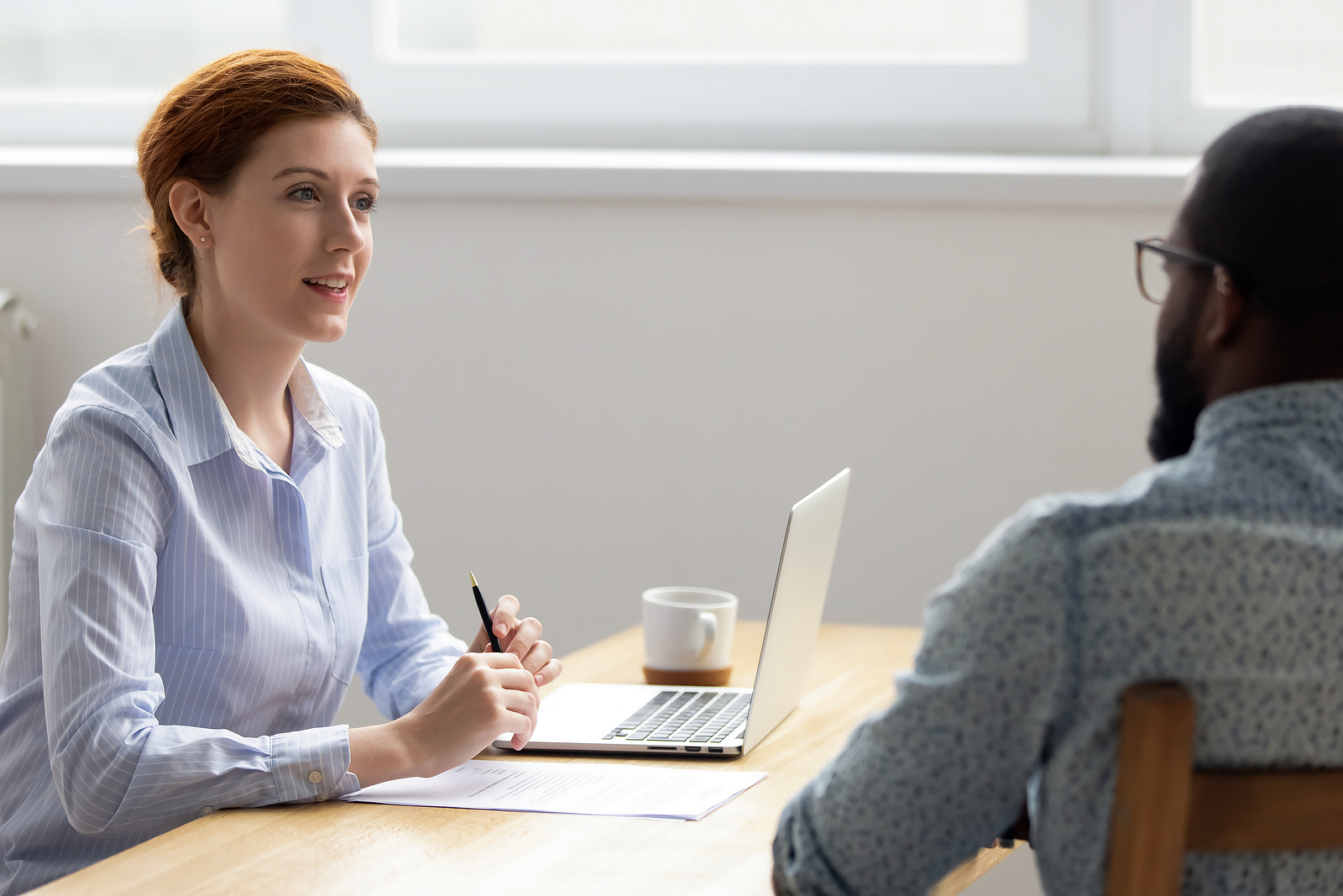 Taurean Consulting Group IT Recruiter preparing a job candidate for their job interview.