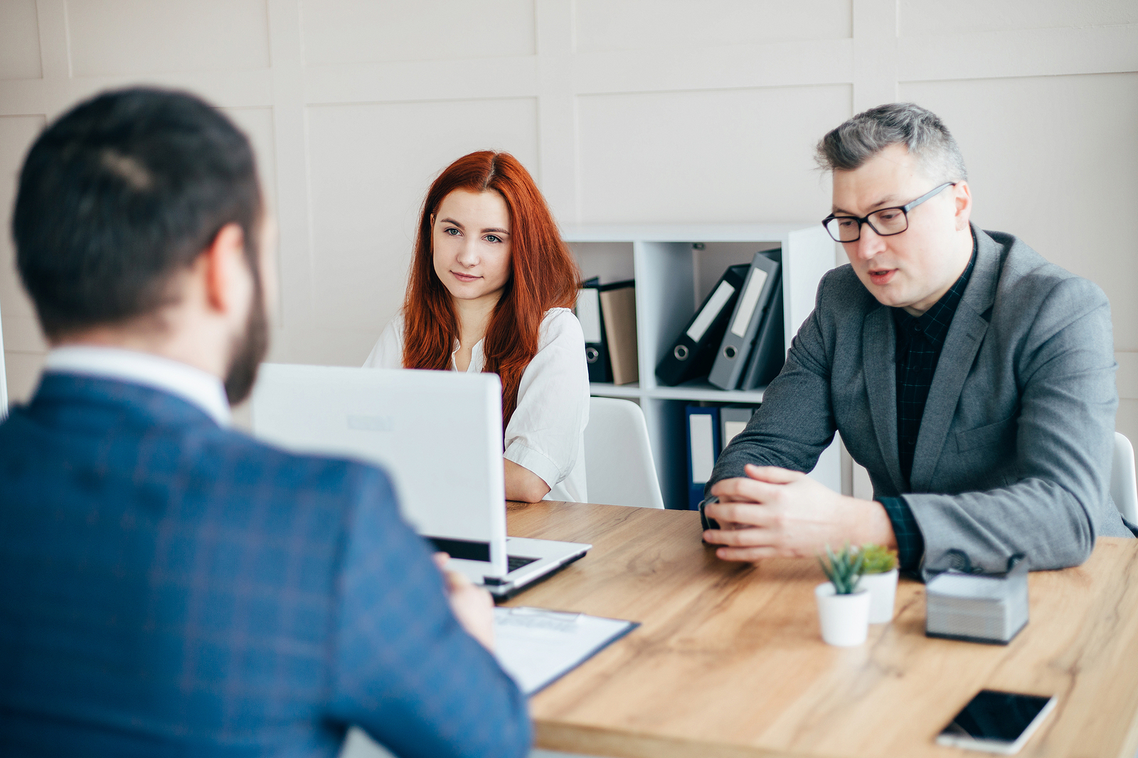 Job Candidate Knows the Right Questions to Ask in an Interview